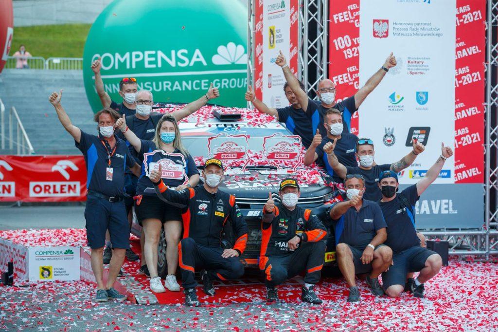 ERC   Rally Polonia 2021, Lukyanuk riparte con una vittoria davanti a Mikkelsen