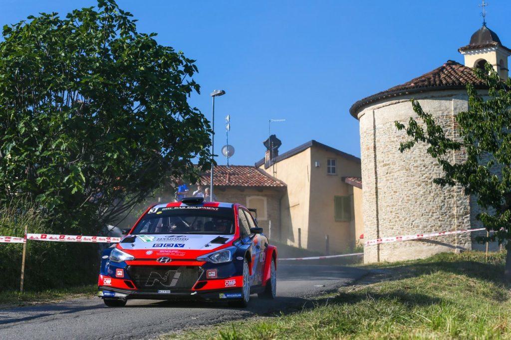 CIWRC | Rossetti e Fenoli vincono il Rally di Alba 2021. Si ritira Pedersoli, primo successo per Solberg sulla i20 WRC
