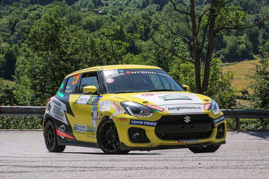 Suzuki Rally Cup   Al Rally di Alba la prima vittoria di Iani e Puliani. Goldoni resta comunque leader