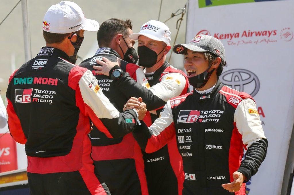 WRC | Safari, la doppietta di Toyota sul podio: Ogier una certezza, Katsuta una rivelazione
