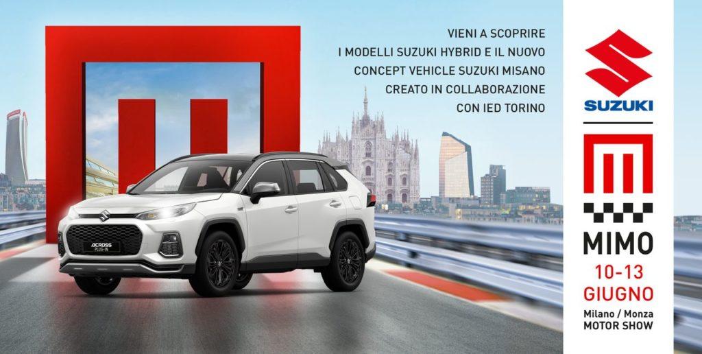 MIMO – Milano Monza Open Air Motor Show 2021, presente anche Suzuki con i suoi modelli Auto, Moto e Marine