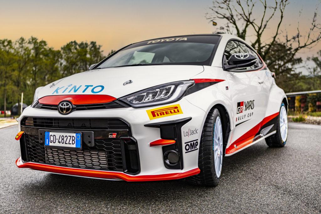 GR Yaris Rally Cup, presentato al Rally Italia Sardegna il monomarca italiano di Toyota