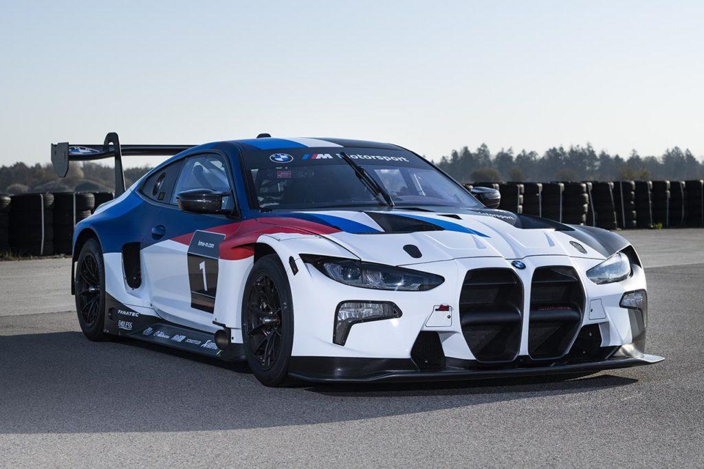 BMW M4 GT3, svelato il nuovo bolide tedesco (che debutterà il prossimo mese al Nurburgring)