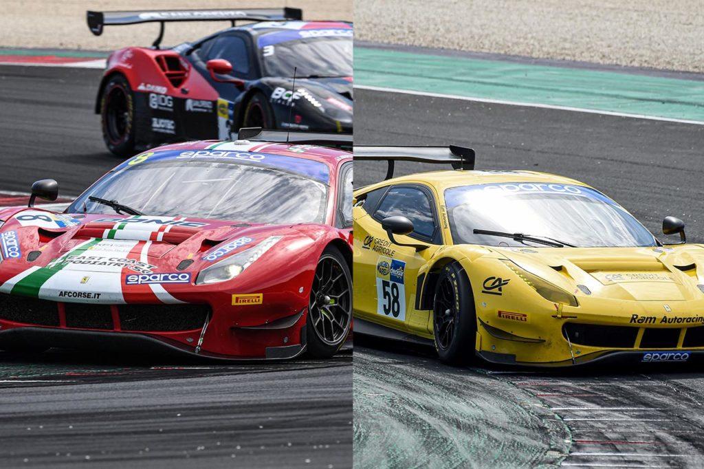 CIGT   Ferrari in pole a Misano: Fuoco con AF Corse e Filippi con RAM Autoracing