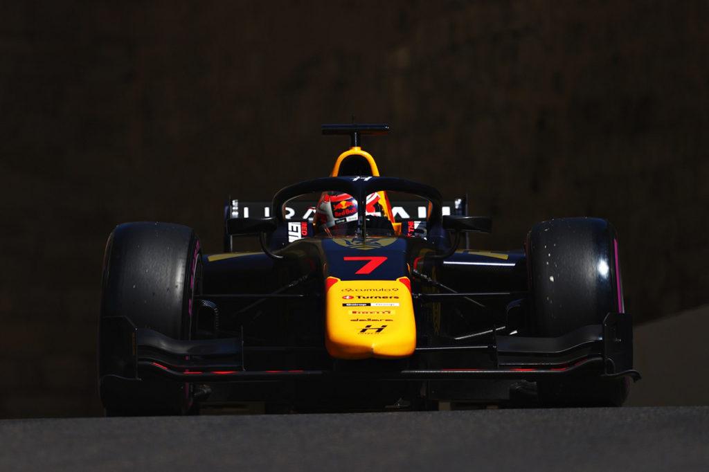 F2 | Doppietta di Hitech GP nelle qualifiche di Baku con Lawson e Vips