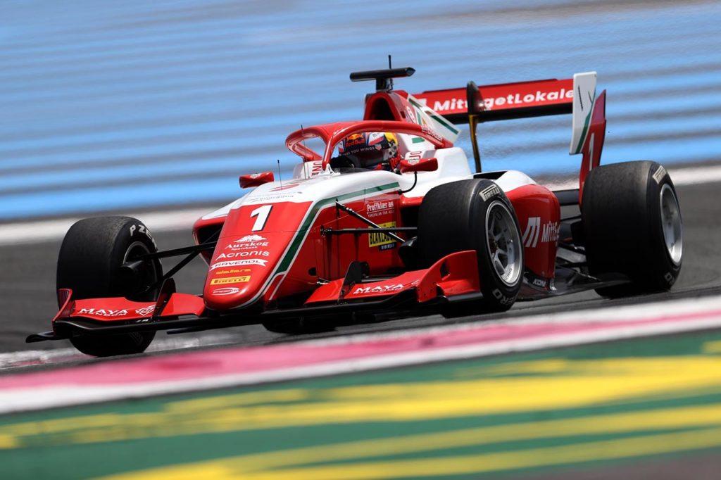 F3   Tre diversi vincitori a Le Castellet, Hauger saldo al comando