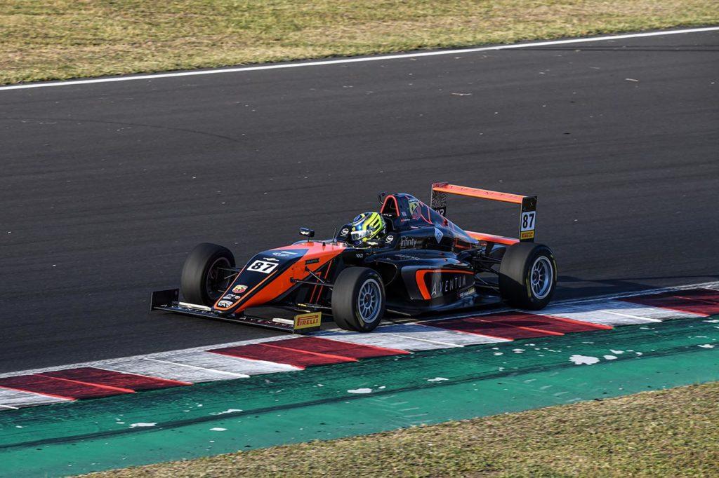 F4 Italia | Bearman si prende Gara 2 a Misano con Van Amersfoort Racing