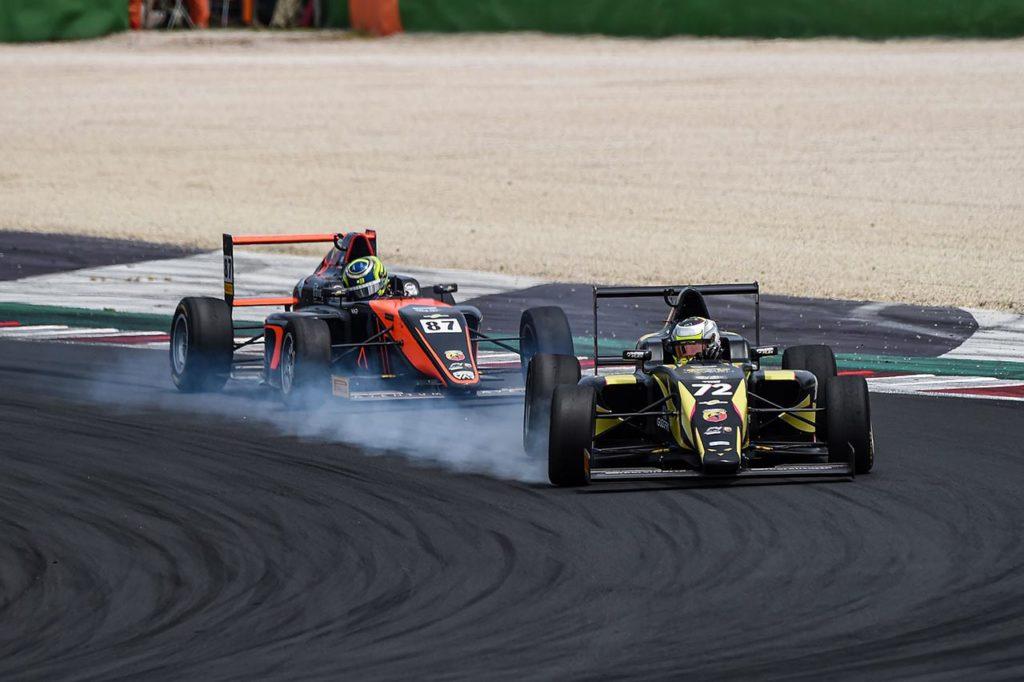 F4 Italia | Prima solida vittoria per Fornaroli e Iron Lynx in Gara 1 a Misano