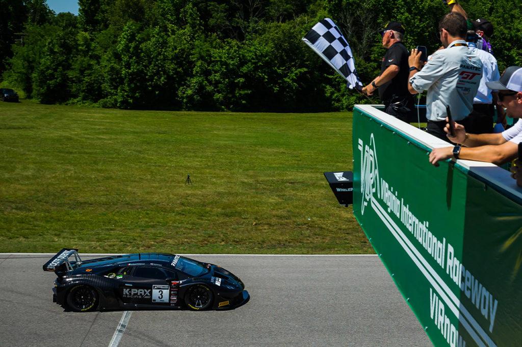 GTWC America | Lamborghini trionfa al VIR e raggiunge quota 100 vittorie!