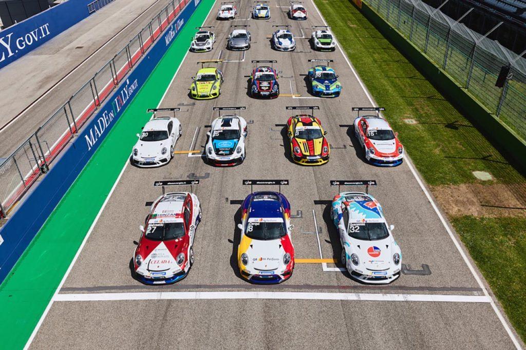 Porsche Carrera Cup Italia   31 piloti per il primo round della stagione 2021 a Misano