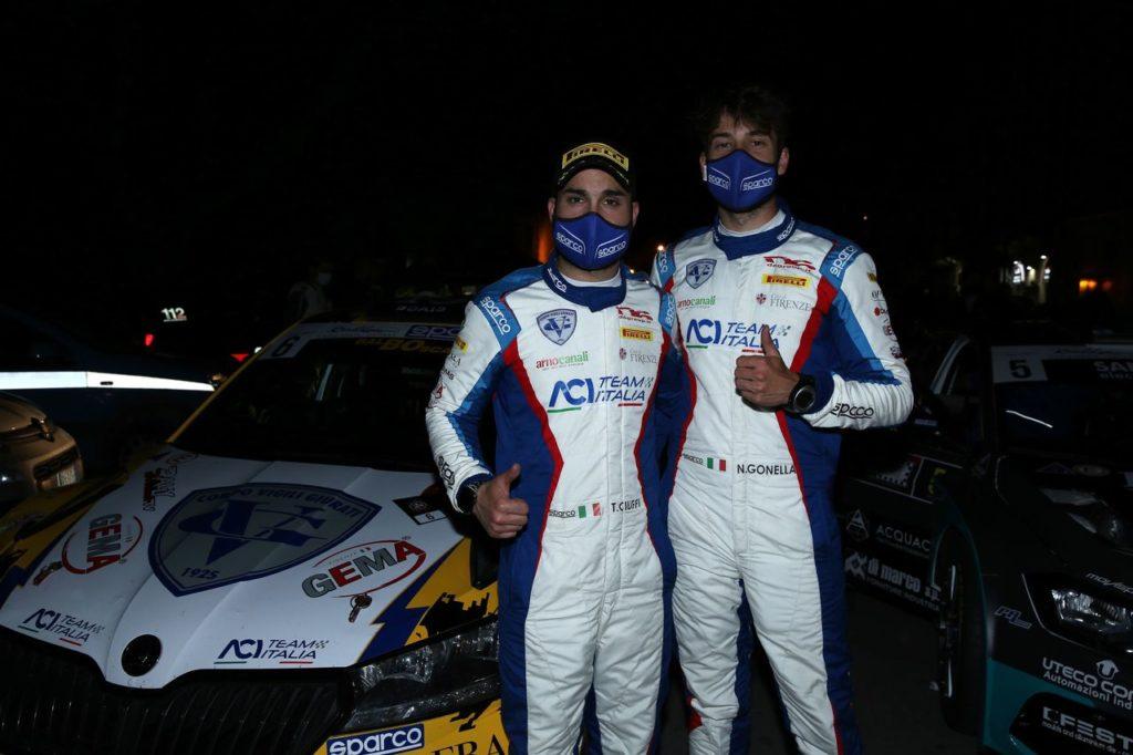 CIR | Rally Roma Capitale 2021, Ciuffi e Gonella debuttano sulla Volkswagen