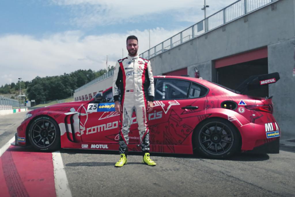 Pure ETCR | Eng al posto di Coletti sull'Alfa Romeo di Romeo Ferraris