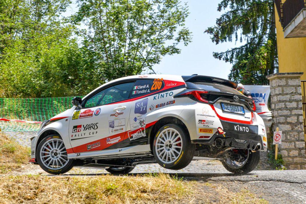 GR Yaris Rally Cup | Il primo appuntamento del Roma Capitale conquistato da Ciardi e Tondini