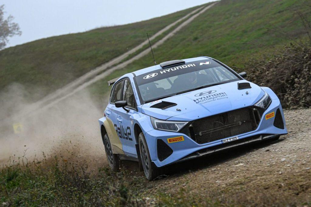 WRC | Debutta in gara all'Ypres Rally la nuova Hyundai i20 N Rally2