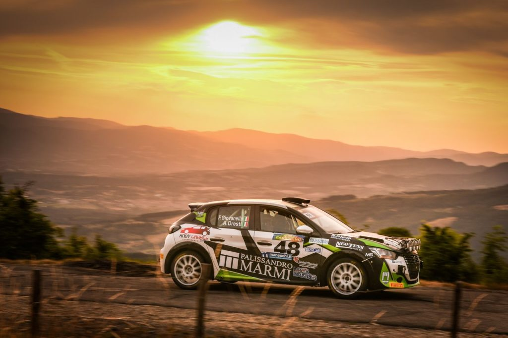 Peugeot Competition | 208 Rally Cup Pro Rally, al Casentino torna al successo Giovanella