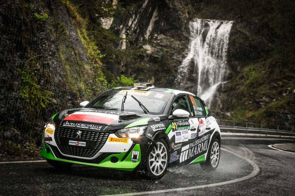 Peugeot Competition   208 Rally Cup Pro, gli equipaggi al Rally del Casentino