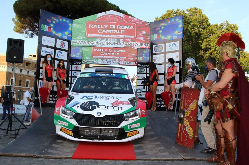 ERC – CIR   Rally di Roma Capitale 2021, anteprima ed orari