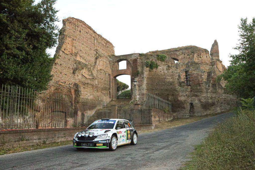 ERC – CIR | Rally Roma Capitale 2021, trionfa Basso su Crugnola