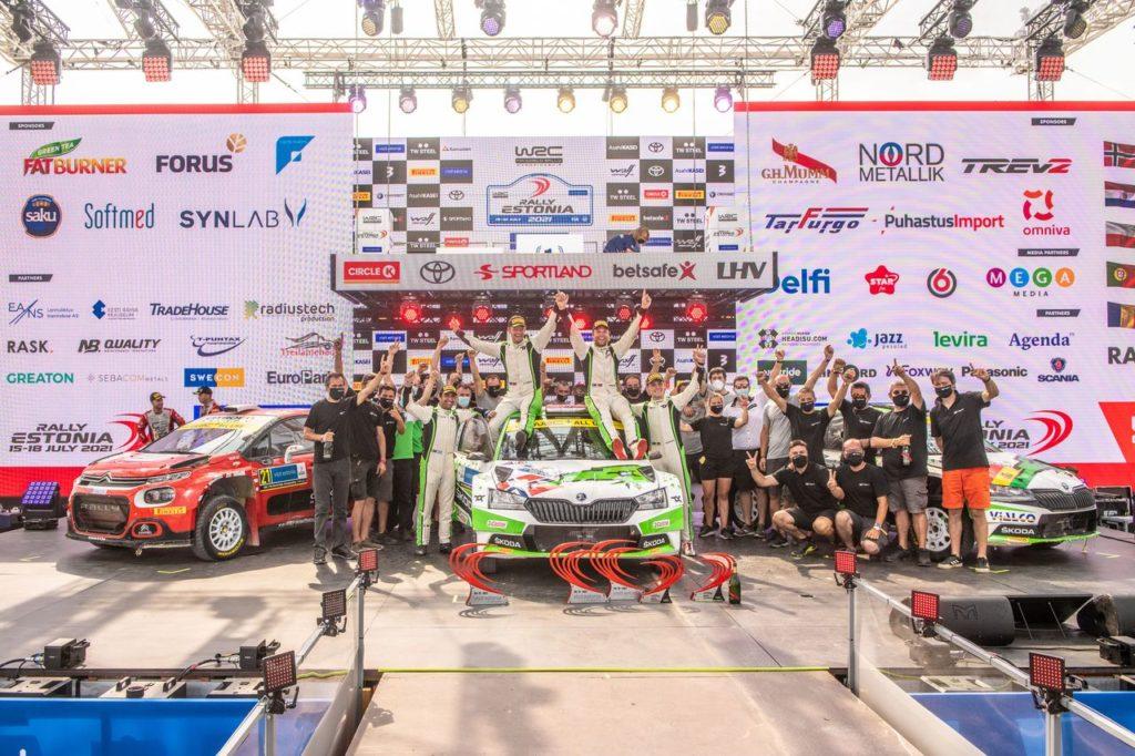 Il WRC2 al Rally Estonia: torna alla vittoria Mikkelsen, problemi per Ostberg, flop Hyundai