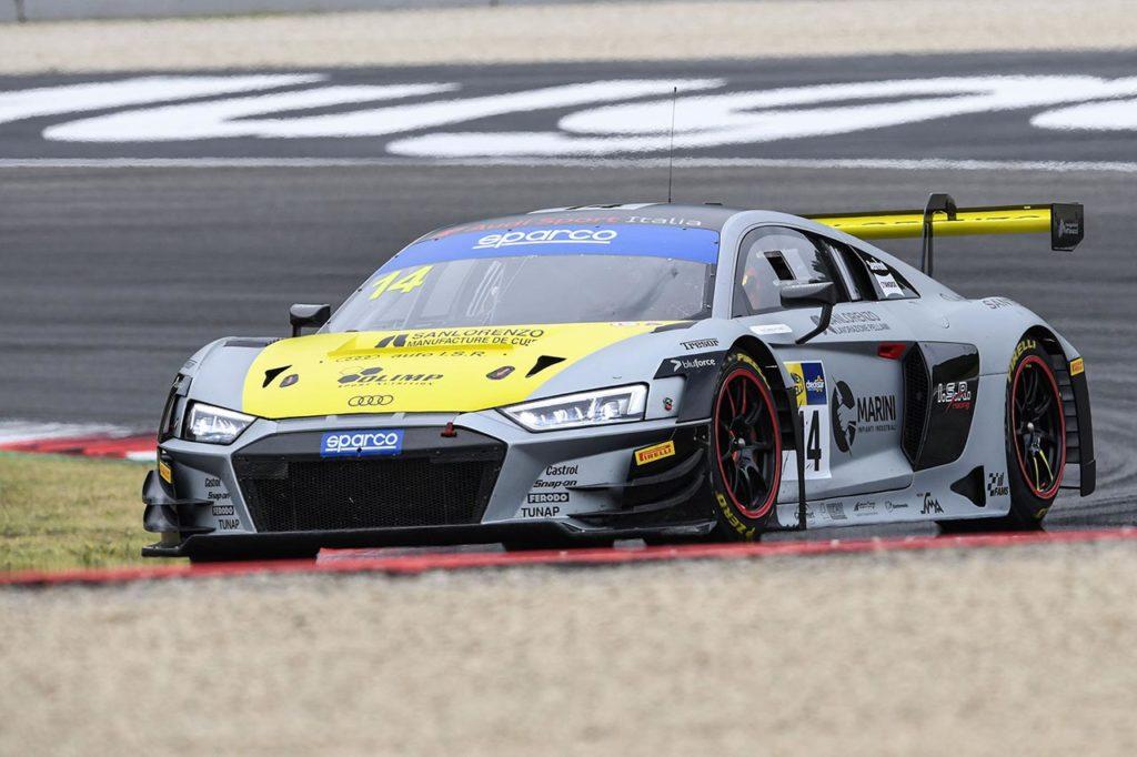 CIGT   Audi Sport Italia prima sul traguardo del Mugello ma viene penalizzata