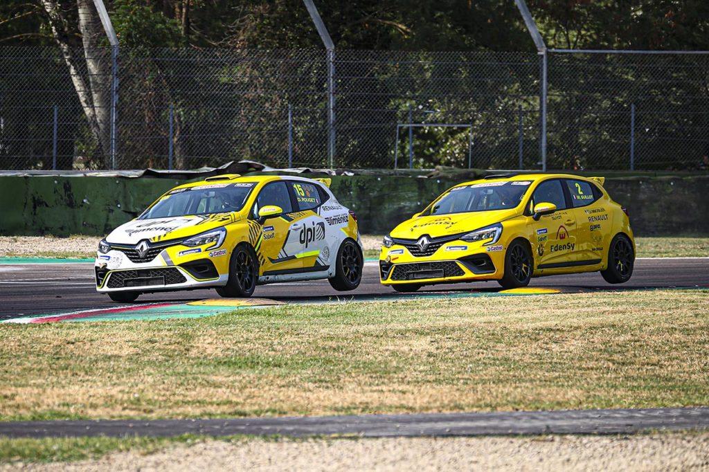 Clio Cup Italia | Guillot e Pouget si dividono le vittorie di Imola nel campionato europeo
