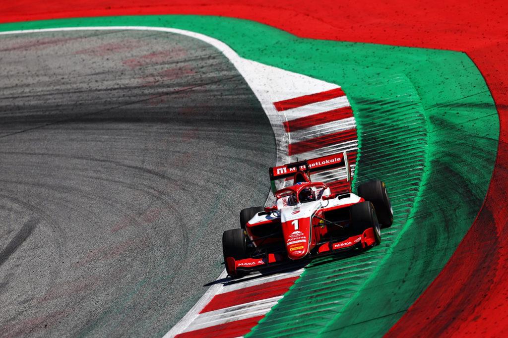 F3   Hauger sempre più leader di campionato: due podi e una vittoria a Spielberg