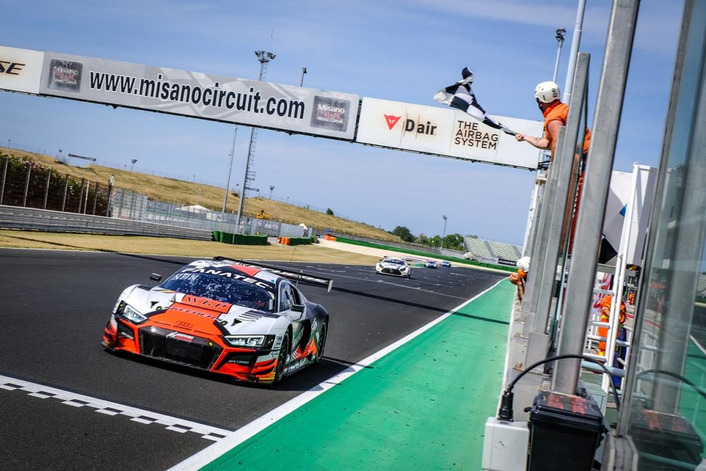 GTWC Europe | Doppietta Audi a Misano con Vanthoor-Weerts di Team WRT