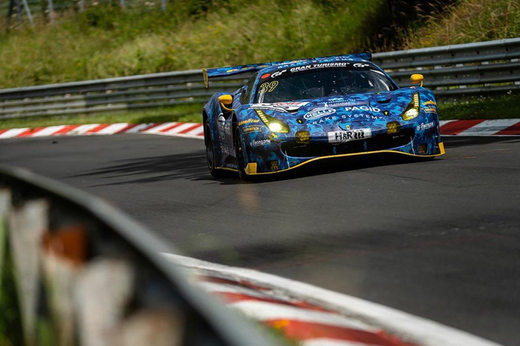 NLS   Hella Pagid – Racing One centra il podio con Ferrari nel round 5