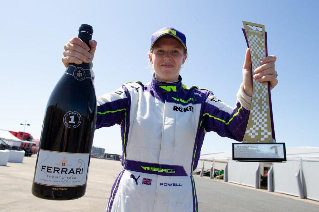 W Series | Seconda vittoria stagionale per Powell a Silverstone