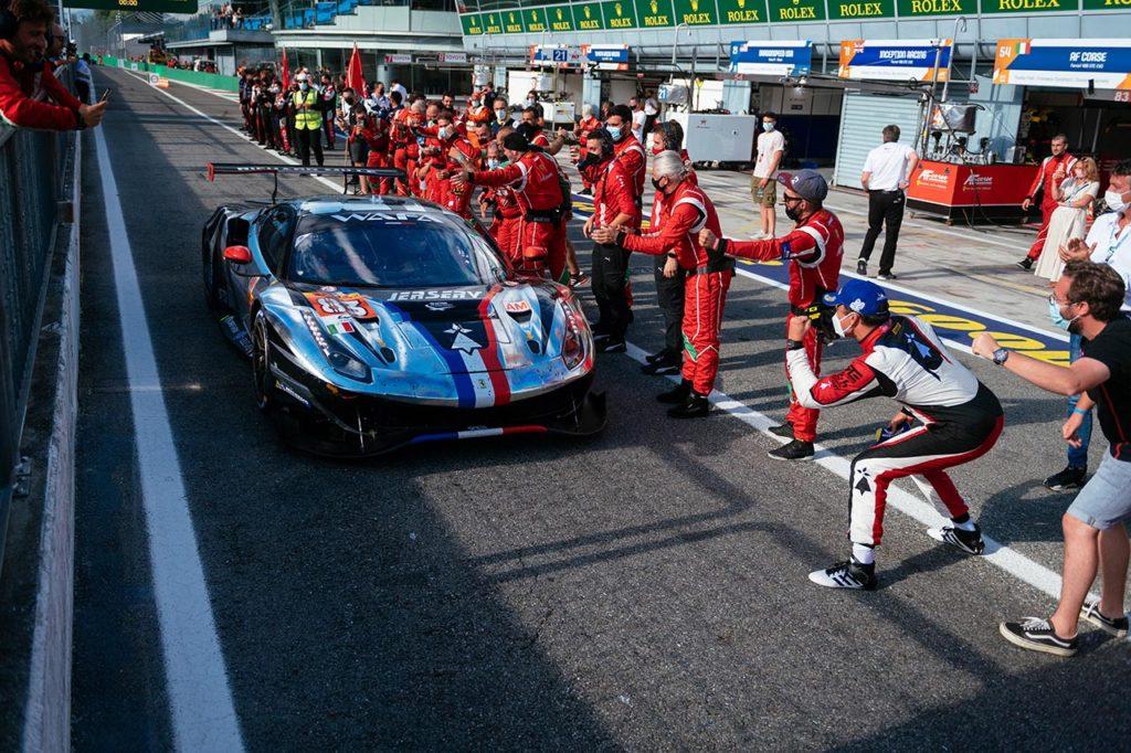 WEC | Ferrari vince alla 6 Ore di Monza con Perrodo-Nielsen-Rovera nella classe Am