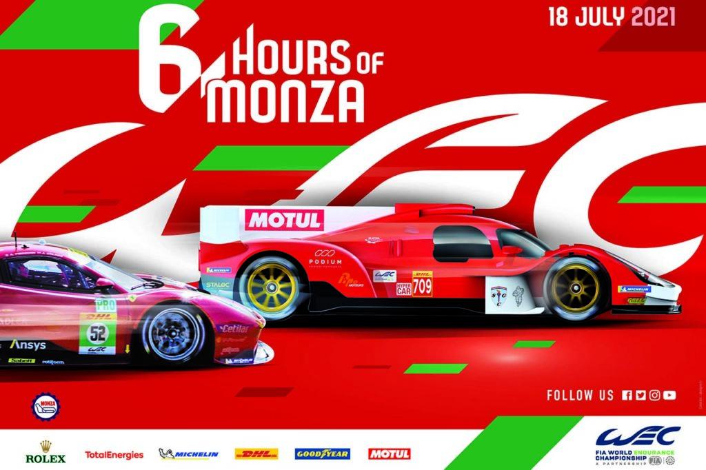 WEC | 6 Ore di Monza 2021: anteprima e orari del weekend