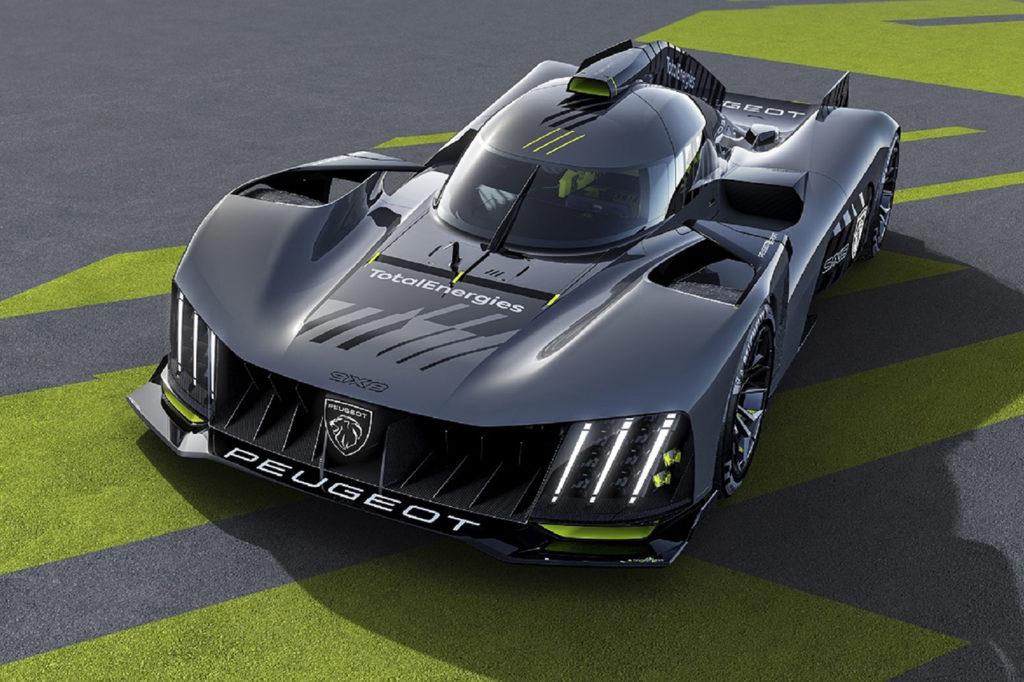 WEC | Peugeot Hypercar 9X8: design futuristico per il ritorno alla 24 Ore di Le Mans 2022