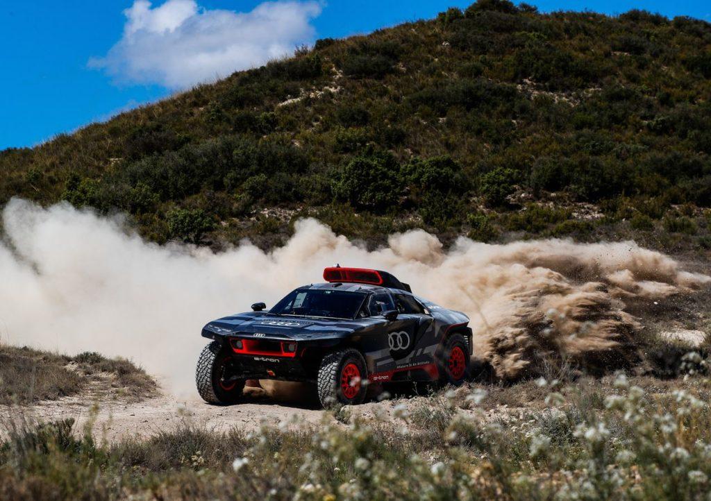 Audi RS Q e-Tron, archiviati i primi test su sterrato