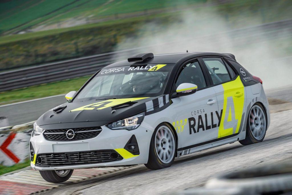 ERC | Al Barum Czech Rally Zlin gareggiano anche le Opel Corsa-e Rally e la nuova Corsa Rally4