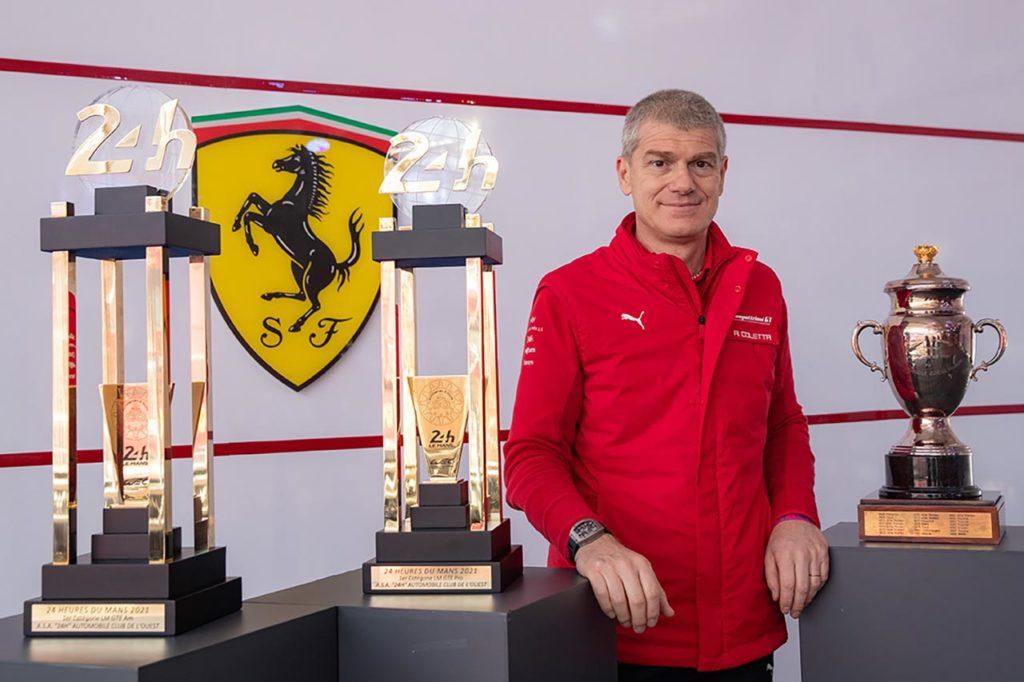"""WEC   Ferrari, Coletta: """"La vittoria alla 24 Ore di Le Mans è uno stimolo per il 2023"""""""