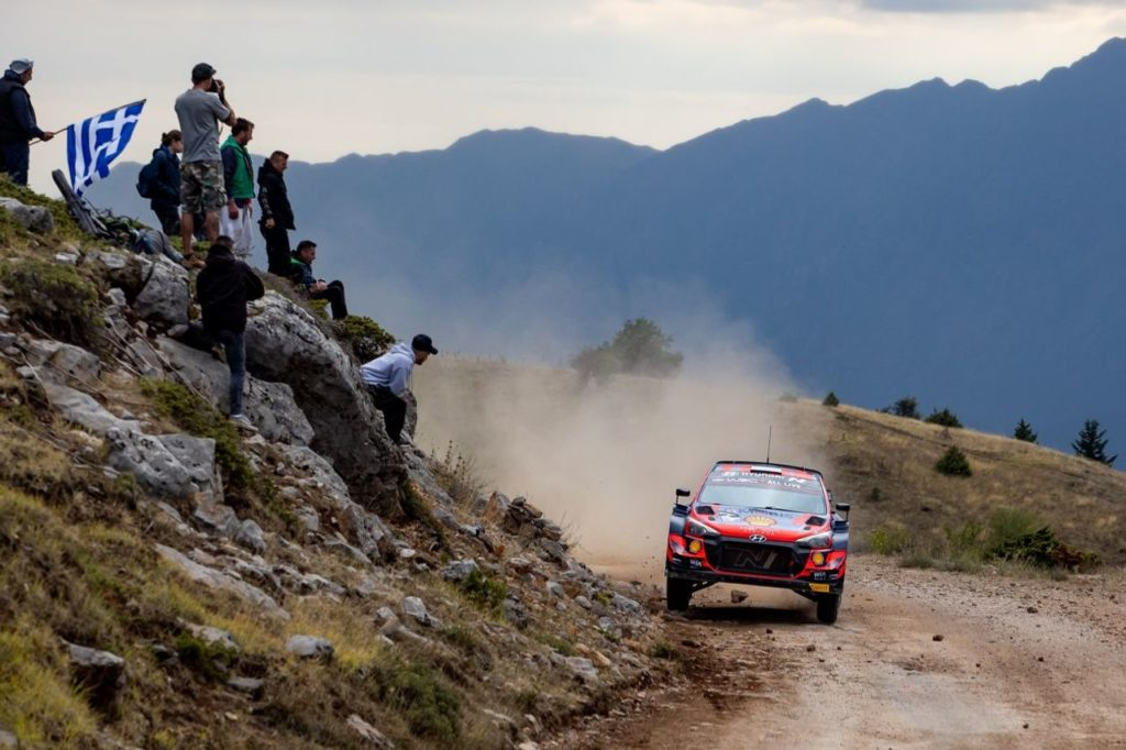 WRC   Acropolis Rally, la frustrazione di Hyundai Motorsport (nonostante il podio di Tanak)