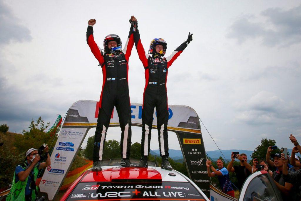 WRC | Kalle Rovanpera trionfa all'Acropolis Rally: i vincitori e i vinti