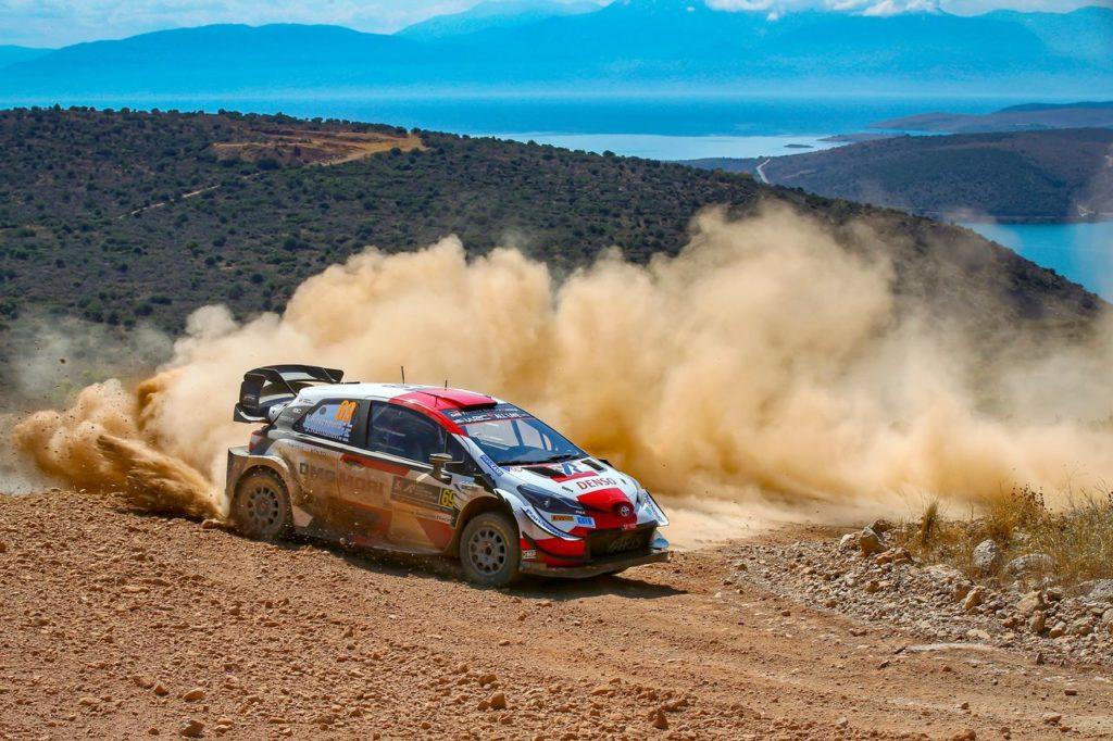 WRC   Acropolis Rally, Rovanpera chiude la penultima giornata ancora da leader