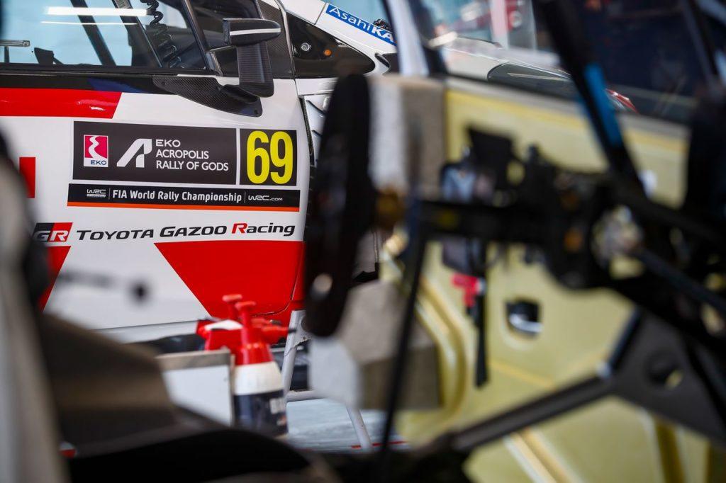 WRC | Acropolis Rally, miglior tempo per Rovanpera tra il fango dello shakedown