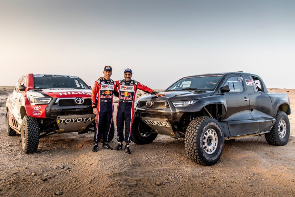 Dakar | Toyota Gazoo Racing presenta la squadra per l'edizione 2022, in gara col nuovo GR DKR Hilux