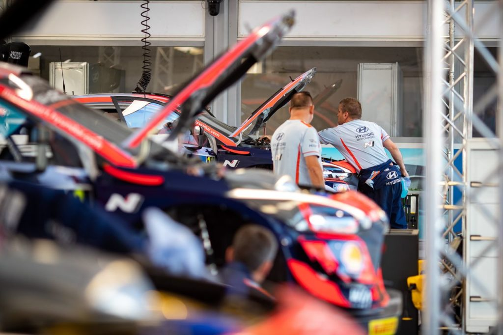 WRC   Il debutto di Hyundai Motosport all'Acropolis Rally