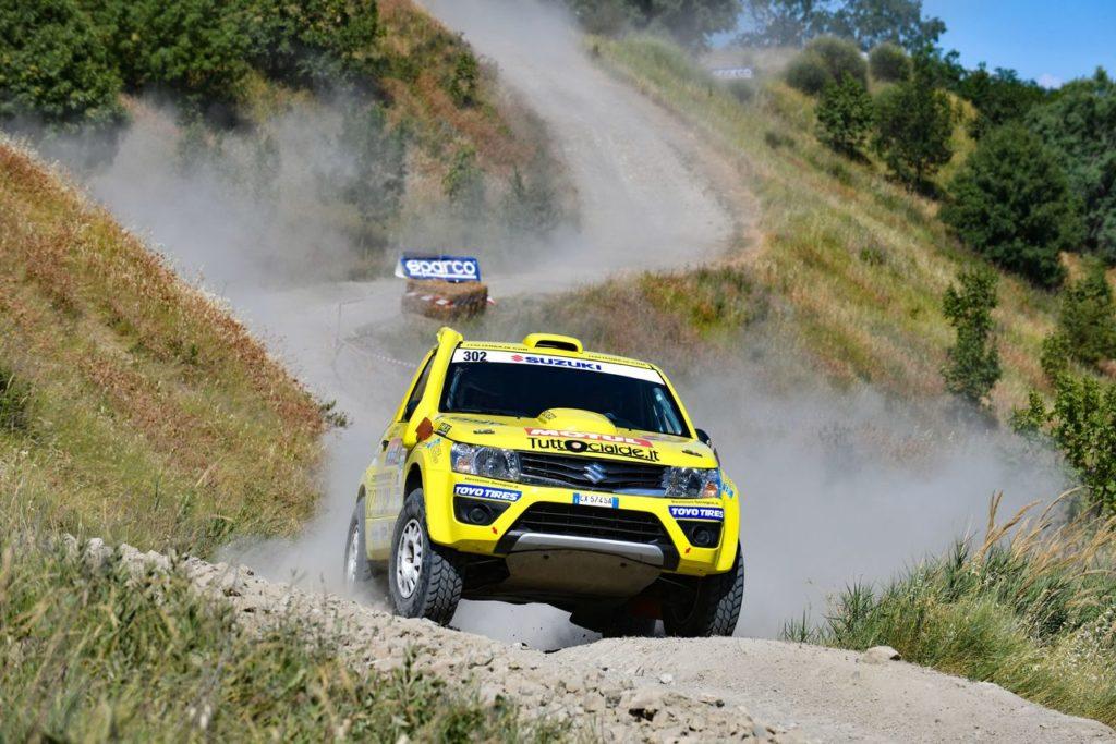 CI Cross Country | Italian Baja 2021, lo schieramento Suzuki