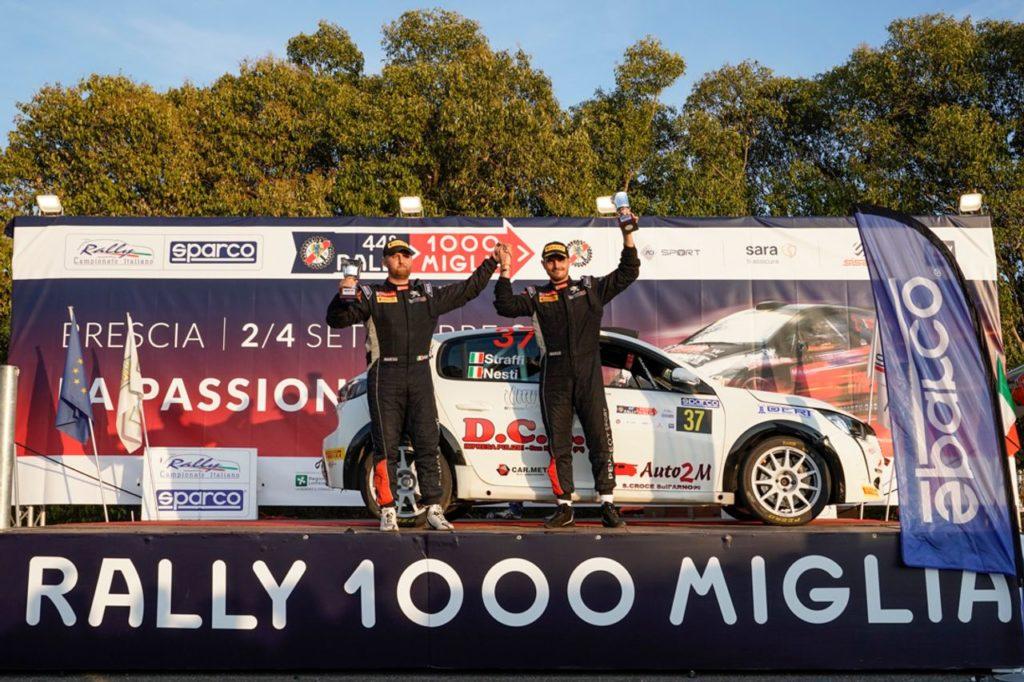 Peugeot Competition   208 Rally Cup Top, Mirco Straffi rimette tutto in discussione al 1000 Miglia