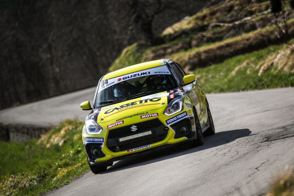 Suzuki Rally Cup | Si riparte dal Rally 1000 Miglia: gli iscritti