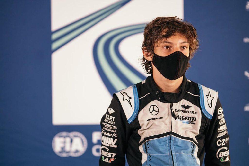 F4 Italia   Antonelli, pupillo Mercedes F1, debutta con Prema a Spielberg