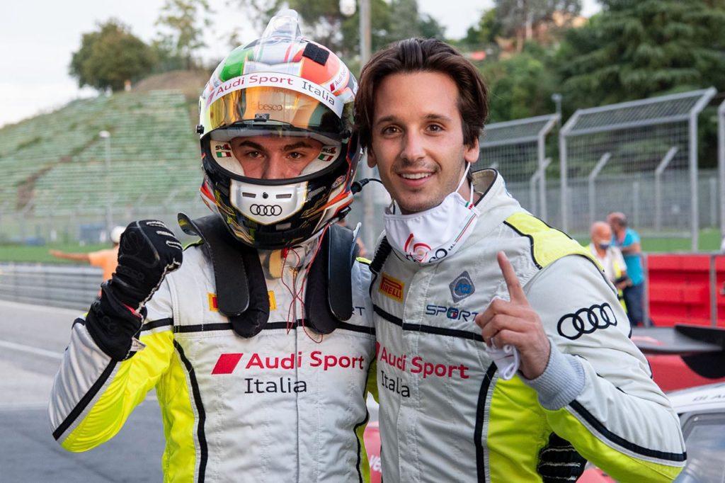 CIGT   Agostini-Ferrari nuovi leader della Sprint con Audi Sport Italia