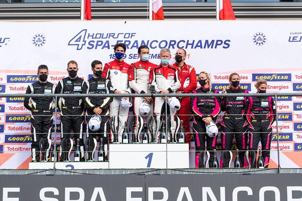 ELMS | Ferrari segna una tripletta alla 4 Ore di Spa-Francorchamps