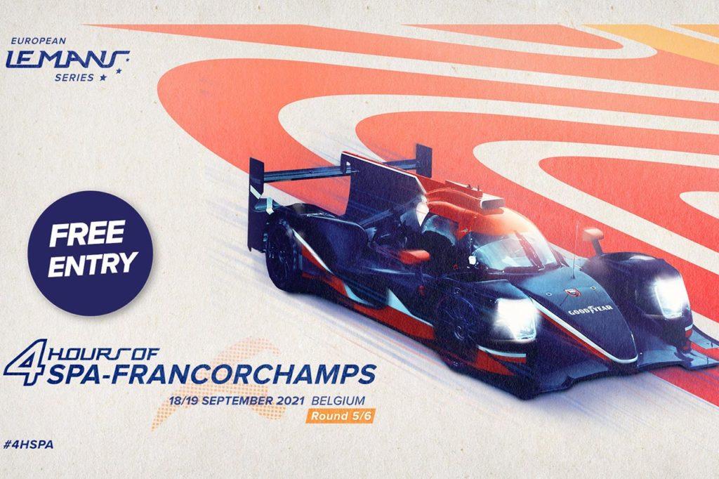 ELMS   4 Ore di Spa-Francorchamps: anteprima e orari del weekend