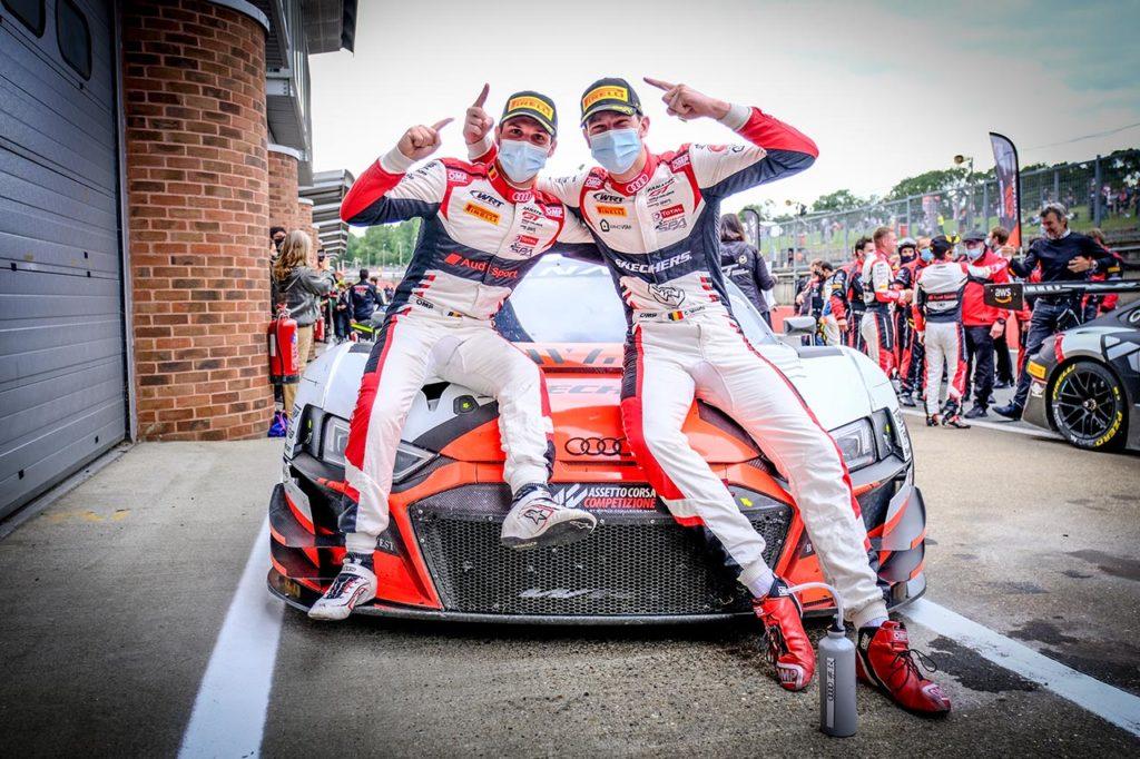 GTWC Europe   Vanthoor-Weerts campioni della Sprint Cup a Brands Hatch con Audi