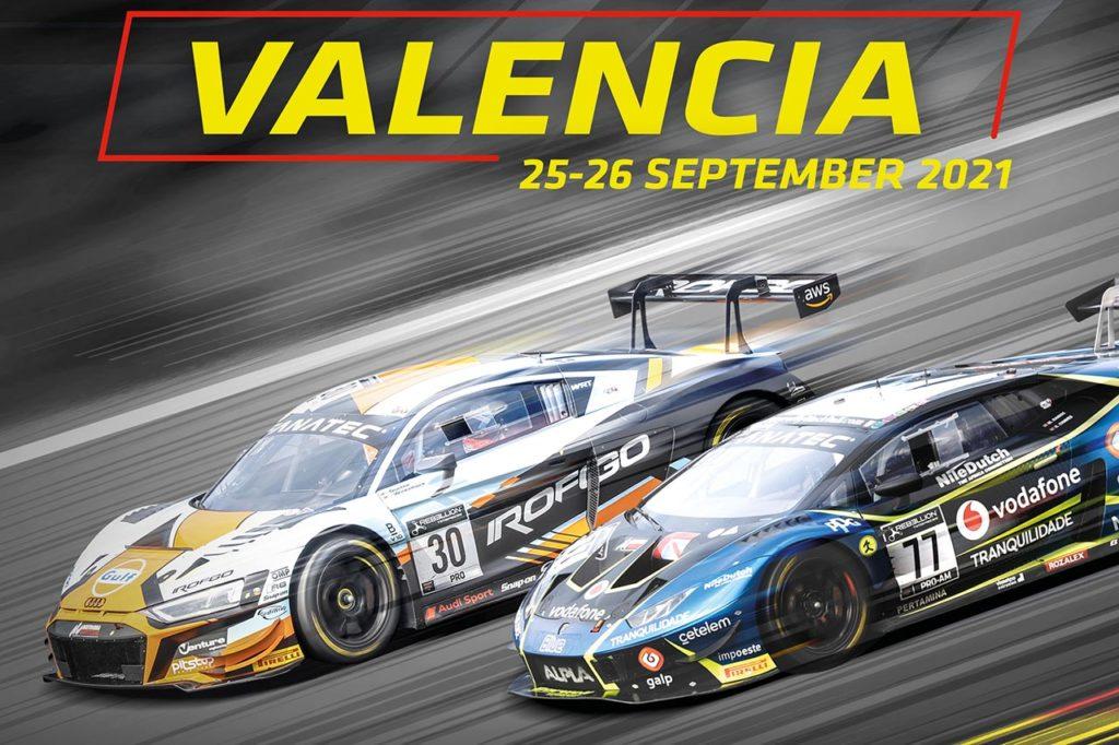 GTWC Europe   Valencia 2021: anteprima e orari del weekend